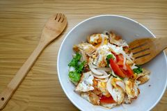 Salada do ovo Foto de Stock Royalty Free