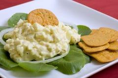 Salada do ovo Imagem de Stock