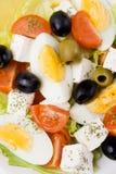 Salada do ovo e do queijo fotos de stock royalty free