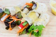 salada do pão Imagens de Stock