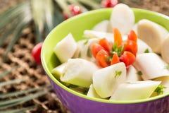 Salada do Palmetto fotos de stock