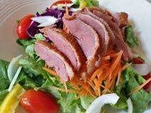 Salada do pato de assado Imagens de Stock Royalty Free