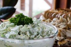 Salada do pepino Imagens de Stock Royalty Free
