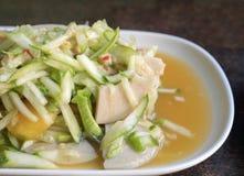 Salada do pepino (som Tam), estilo tailandês do alimento Imagem de Stock Royalty Free