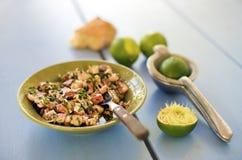 Salada do polvo Imagens de Stock