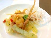 Salada do polvo Fotografia de Stock Royalty Free