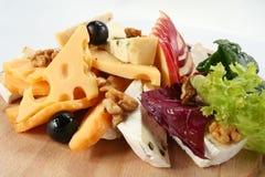 Salada do queijo Fotografia de Stock Royalty Free