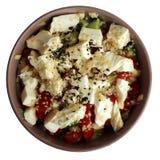 Salada do queijo fotos de stock royalty free