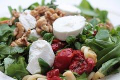 Salada do queijo de cabra Foto de Stock