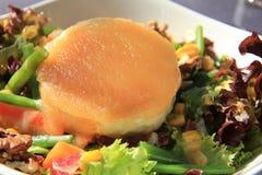 Salada do queijo de cabra Fotografia de Stock