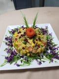 Salada do Quinoa imagem de stock royalty free