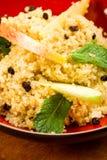 Salada do Quinoa com maçã foto de stock