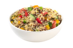 Salada do Quinoa do vegetariano Imagem de Stock Royalty Free
