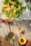 Salada do quintal Fotos de Stock