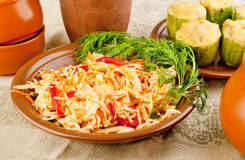 Salada do repolho Foto de Stock