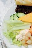 Salada do ` s do Ploughman Imagem de Stock