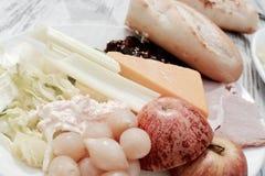 Salada do ` s do Ploughman Fotos de Stock Royalty Free