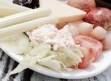 Salada do ` s do Ploughman Fotografia de Stock