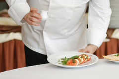 Salada do serviço Fotos de Stock Royalty Free