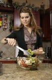 Salada do serviço Fotos de Stock