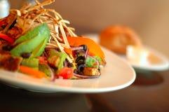 Salada do sudoeste do vegan fotografia de stock