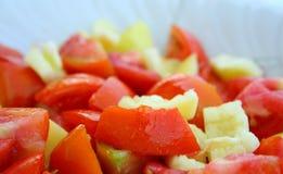 Salada do tomate Fotos de Stock