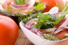 Salada do tomate Imagens de Stock Royalty Free