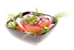 Salada do tomate Fotografia de Stock