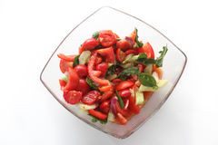 Salada do tomate foto de stock royalty free