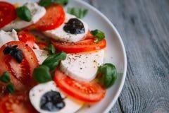 Salada do vegetariano Imagem de Stock Royalty Free