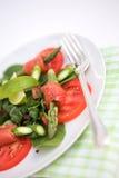 Salada do verão fotos de stock royalty free