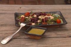 Salada do verão com micro verdes Imagem de Stock