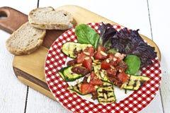 Salada do Zucchini Foto de Stock