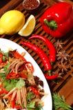 Salada dos camarões Imagens de Stock Royalty Free