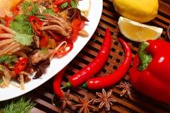 Salada dos camarões Imagens de Stock