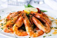 Salada dos camarões Fotografia de Stock Royalty Free