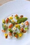 Salada dos camarões Imagem de Stock