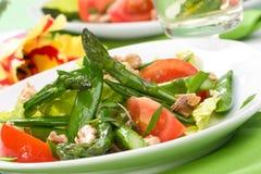 Salada dos espargos foto de stock