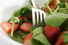 Salada dos espinafres Foto de Stock