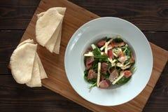 Salada dos espinafres Imagens de Stock