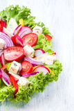 Salada dos legumes frescos Fotografia de Stock Royalty Free