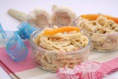 Salada dos macarronetes Imagens de Stock Royalty Free