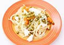 Salada dos macarronetes Fotografia de Stock