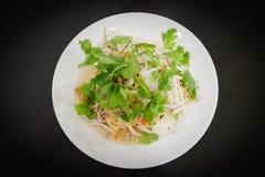 Salada dos macarronetes imediatos Yum imagem de stock royalty free