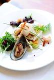 Salada dos mexilhões Imagens de Stock Royalty Free