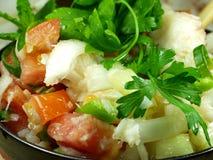 Salada dos peixes Fotos de Stock