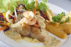 Salada dos peixes Foto de Stock Royalty Free