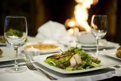 Salada dos peixes Imagem de Stock Royalty Free
