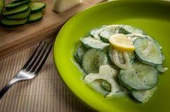 Salada dos pepinos Fotos de Stock