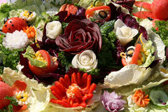 Salada dos vegetais Foto de Stock Royalty Free